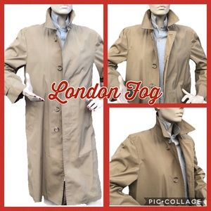 London Fog Water Resistant Women's Trench Coat